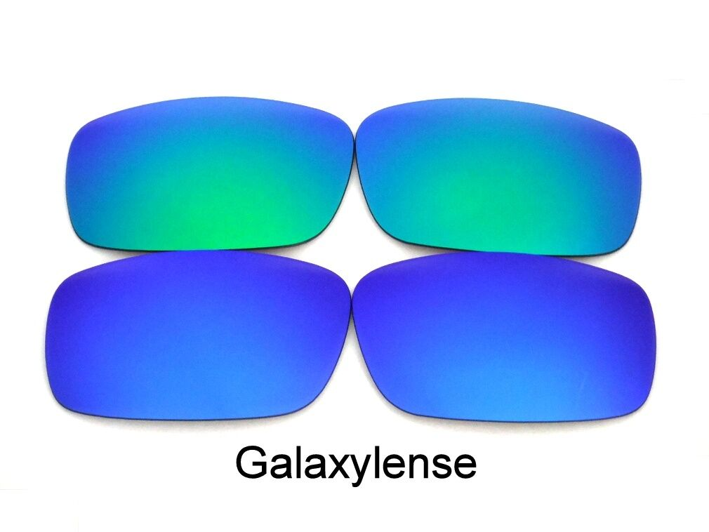 af436cc9f4 Galaxy Replacement Lenses For Oakley Chainlink Blue Green Polarized 2 Pair