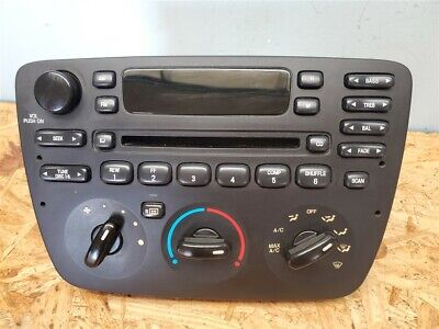 Ford Taurus Radio Heater Climate Control Unit Assembly