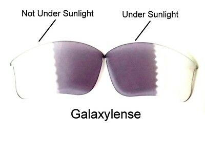 Galaxy Replacement Lenses For Oakley Flak Jacket XLJ Photochromic (Flak Jacket Photochromic Lenses)