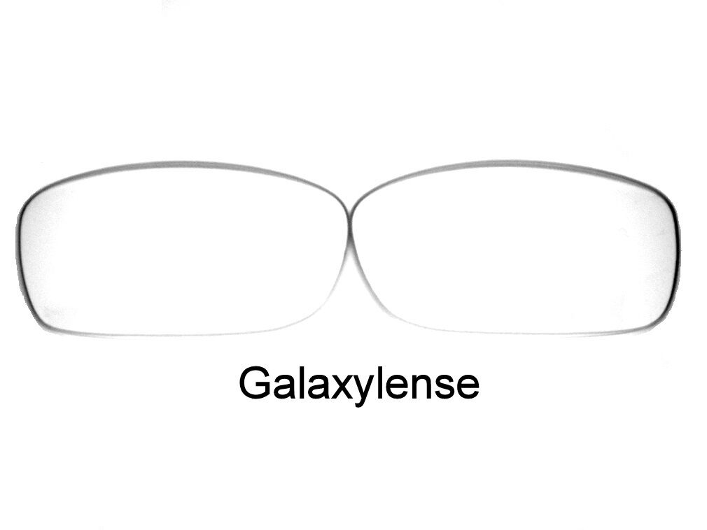 0a3a8434f9 Galaxy Replacement Lenses For Oakley Fives Squared Sunglasses Clear 100%  UVAB