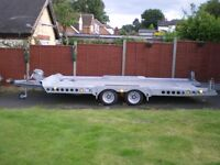 Ifor Williams CT177 car transporter trailer