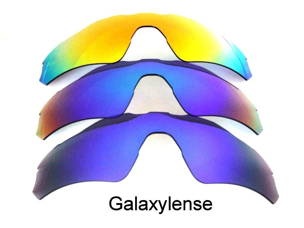 Galaxis Ersatzgläser für Oakley Radar EV Path blau & grün & rot ...