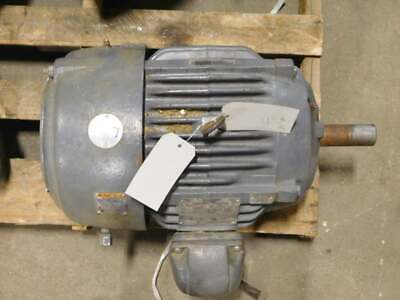 15hp Emerson Bj08 Ac Motor 254t Frame 1800 Rpm 460vac Tefc