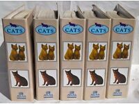 All About Cats Atlas Editions 5 Binders Fully Complete Set With Information Cards