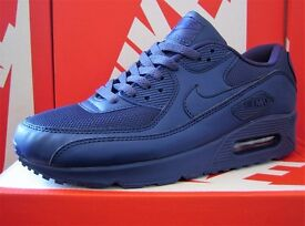 BNIB NIKE AIR MAX 90 - BLUE