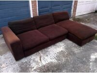Big corner sofa, FREE DELIVERY in London