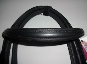 Windsor Leather Cavesson Snaffle Bridle & Reins Shetland, Pony, Cob, Full  *NEW*