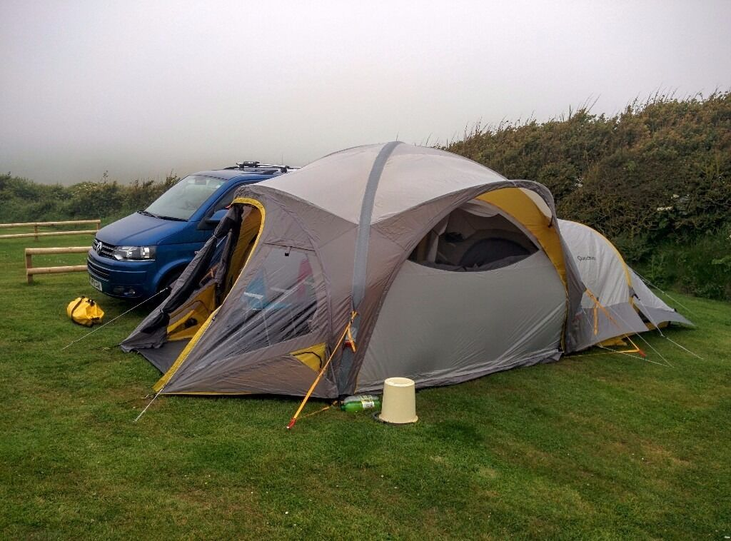 Quechua MSH Living Room And 3 Inflatable Tent Or Possible Awning