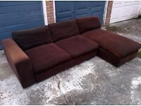 Large corner sofa, FREE DELIVERY in London