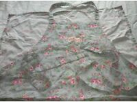 Cath Kidston Long Apron used once - PRICED TO SELL