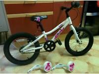 "Saracen Bella 16"" Girls Bike"
