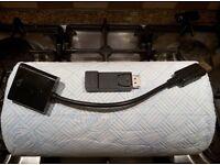 2x DisplayPort to HDMI adaptors