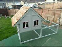Rabbit hutches built to order in any configuration