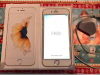 iPhone 6s gold 64g boxed with accessories