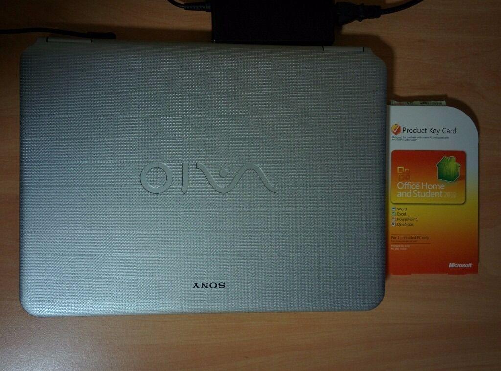 sony vaio laptop microsoft office 2010 product key