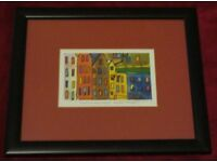 Framed Print of West Bow Grassmarket Edinburgh by Chris Bibby