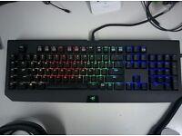 Razer Blackwidow Chroma Stealth PC/Mac Keyboard, US Layout