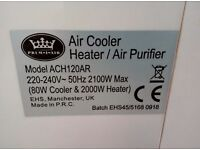 AC + Heater + water cooler+ air cleaner
