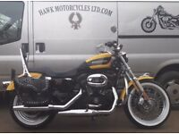 STUNNING CONDITION 2005 HARLEY DAVIDSON XL1200R ROADSTER, 10,476 MILES, PANNIER BAGS