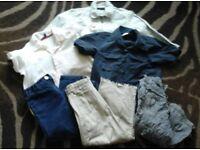 Bundle kids boys clothes French Connection Next age 3 - 4 jeans shirts jacket