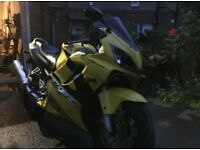 Honda CBR 600 F4i - just serviced, recent Michelin tyres, low mileage, March 2019 MOT