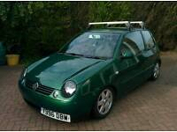 VW Lupo, 1.4 Sport, 2001 - lowered, modified