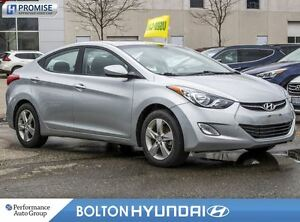 2013 Hyundai Elantra GLS|Accident Free|SunRoof|Bluetooth|Alloys
