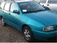 Left-hand drive, Seat Cordoba, good working condition, 1.6 petrol and gas, month insurance,