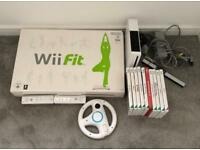 Wii Console, Wii Fit & 10 Games