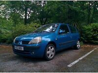 Renault Clio- 7 months MOT