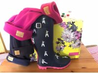 Joules Wellies With Socks