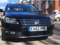 VW Passat 2.0 TDI Bluemotion Tech Highline 4dr Saloon - 62 reg Excellent Condition inside and out.