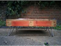 Handmade pallet style coffee table | The Hairpin Leg Co.