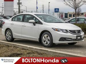 2015 Honda Civic LX|Accident Free|Bluetooth|Heated Seats
