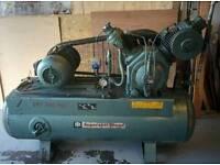 Ex High School Ingersoll-Rand T30 Compressor. Model 7T