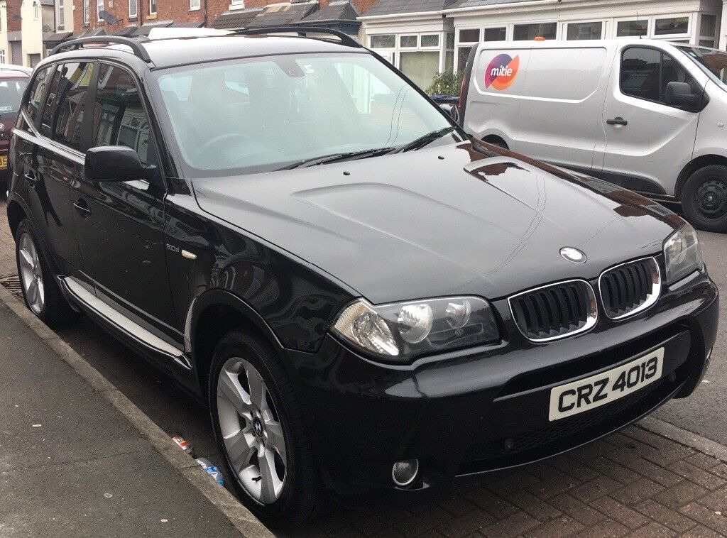 2004 bmw x3 2 0 diesel 5 door 4x4 nice spec in. Black Bedroom Furniture Sets. Home Design Ideas