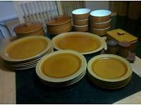 Hornsea Saffron Pottery - Dinner Set / Tea or coffee Set / Jars & many other items - Price varies.