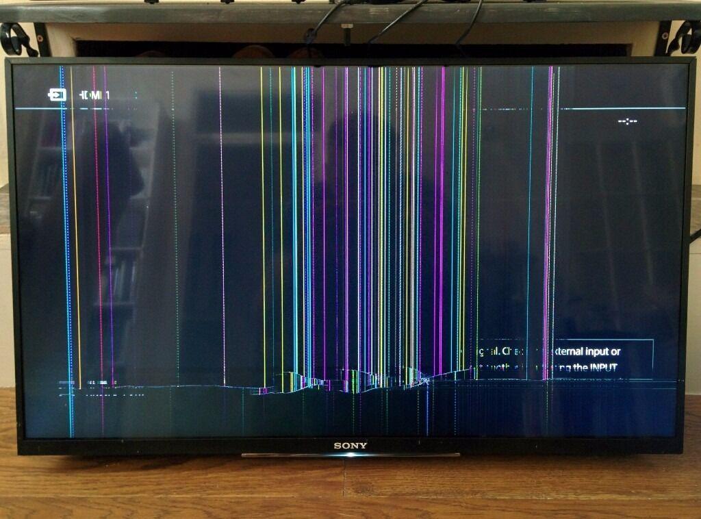 """Broken 32"""" Sony TV 2016 model KDL-WD756BU   in Hampstead ..."""