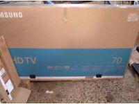 "SAMSUNG 70"" UE70KU6000 4k UHDTV"
