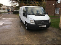 FORDTRANSIT 2.2 (63 reg) Panel van, genuine 35k miles, NO VAT, full history, m.o.t.
