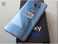 Samsung Galaxy s7 edge 32gb Carol blue