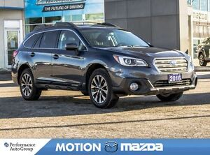 2016 Subaru Outback 3.6R Limited Leather+ Winter Tires