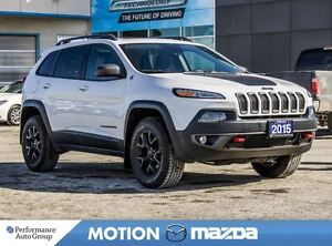 2015 Jeep Cherokee Trailhawk 4X4 Over $10K Options!