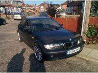 2004 BMW 320d, green with 6 speed box and 18in alloys