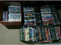 145 DVD's Lot carboot market stall