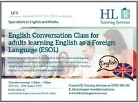 English language teacher offering ESOL IELTS, CAE, FCE, Conversation and General English lessons.