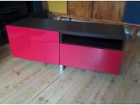 Ikea TV bench - Besta - 2 pieces - very good condition