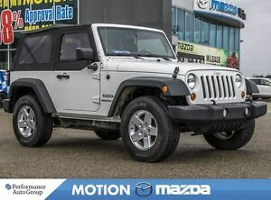 2013 Jeep Wrangler Sport 4X4 6Spd A/C Soft Top
