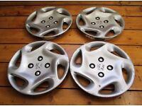 "Peugeot 306 Set of 14"" Wheel Trims Hub Caps"