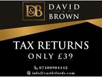 £39 for Tax return, Bookkeeping, VAT & Accounts!!!